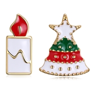 Show details for  Zinc Alloy Simple Stud Earrings 3LK053831E
