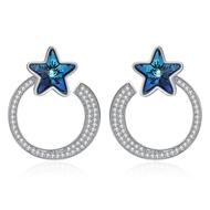 Show details for  Star Simple Dangle Earrings 3LK054370E