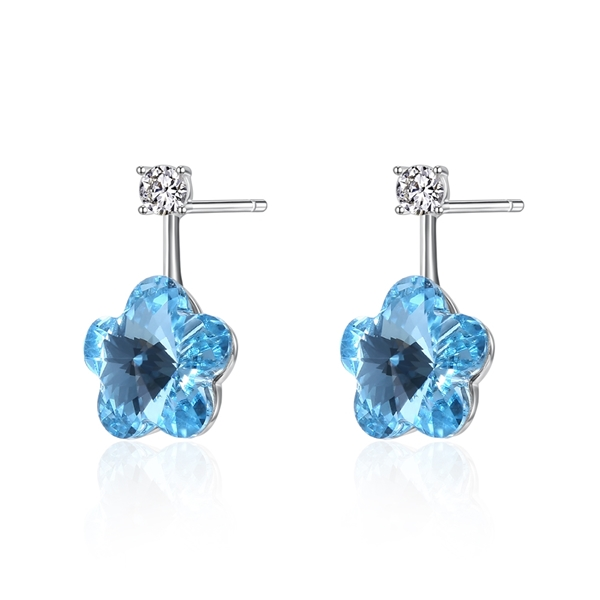 Picture of Classic Flowers & Plants Stud Earrings with Unbeatable Quality