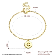 Picture of Copper or Brass Casual Link & Chain Bracelet with Full Guarantee