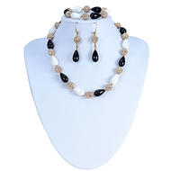 Picture of Well Designed Zine-Alloy Big 3 Pieces Jewelry Sets