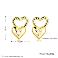 Picture of Purchase Copper or Brass Delicate Stud Earrings Exclusive Online