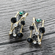 Picture of Classic Colorful Stud Earrings Factory Direct Supply
