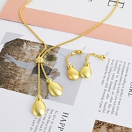 Picture of Zinc Alloy Gold Plated Necklace and Earring Set with Member Discount