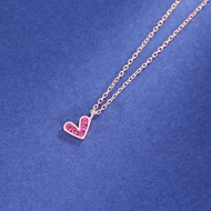 Picture of Recommended Pink Cubic Zirconia Pendant Necklace with Member Discount