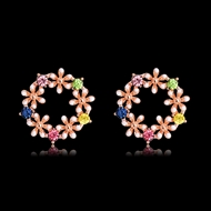 Picture of Good Cubic Zirconia Casual Stud Earrings