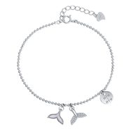 Picture of Fashion Platinum Plated Fashion Bracelet with Worldwide Shipping