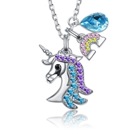 Show details for High Quality Fashion Platinum Plated Pendant Necklace in Exclusive Design