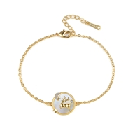 Show details for Wholesale Gold Plated Copper or Brass Fashion Bracelet with No-Risk Return