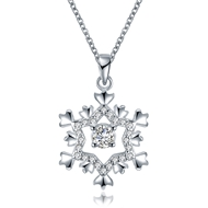 Show details for Fashion White Pendant Necklace with Speedy Delivery