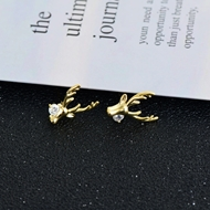 Picture of Stylish Casual White Stud Earrings