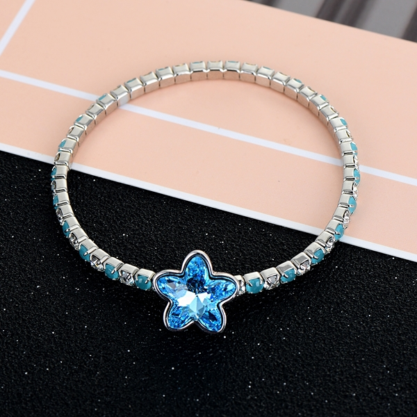 Picture of Distinctive Blue Fashion Fashion Bangle Factory Direct Supply