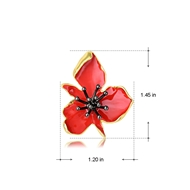 Picture of Latest Flower Casual Stud Earrings