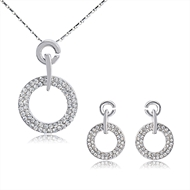 Picture of Vanguard Design For Zine-Alloy Rose Gold Plated 2 Pieces Jewelry Sets