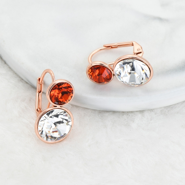 Picture of Bulk Rose Gold Plated Classic Small Hoop Earrings Exclusive Online