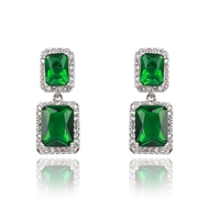 Picture of Luxury Cubic Zirconia Dangle Earrings Online Only