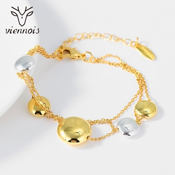 Picture of Fast Selling Multi-tone Plated Zinc Alloy Fashion Bracelet from Editor Picks