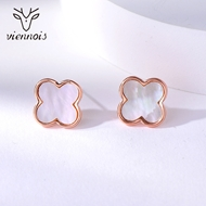 Picture of Brand New Black Classic Stud Earrings with Full Guarantee