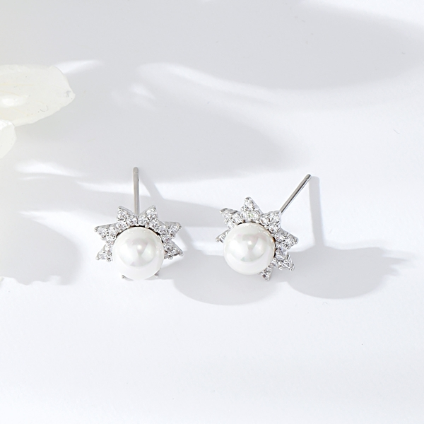 Picture of Funky Small Delicate Stud Earrings