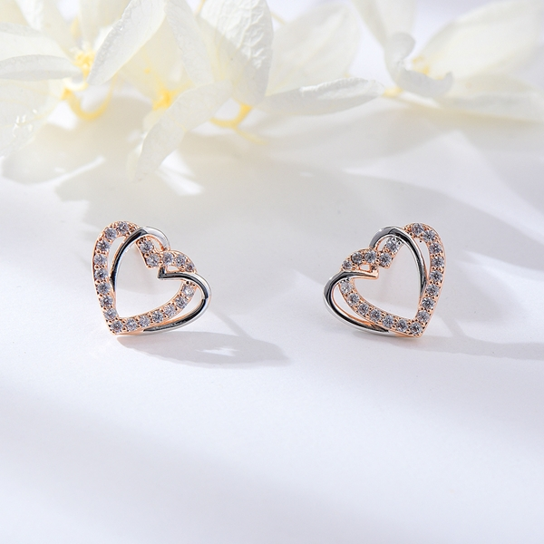 Picture of Small White Stud Earrings For Your Occasions