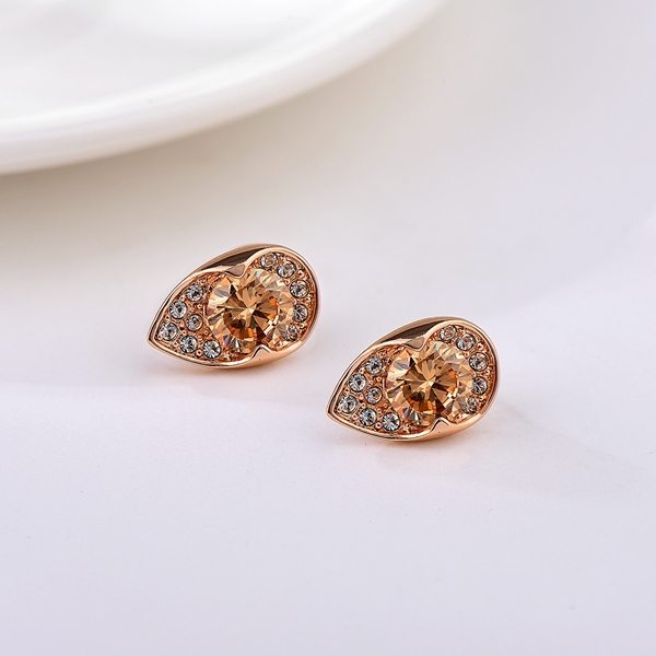 Picture of Low Cost Zinc Alloy Small Stud Earrings with Low Cost
