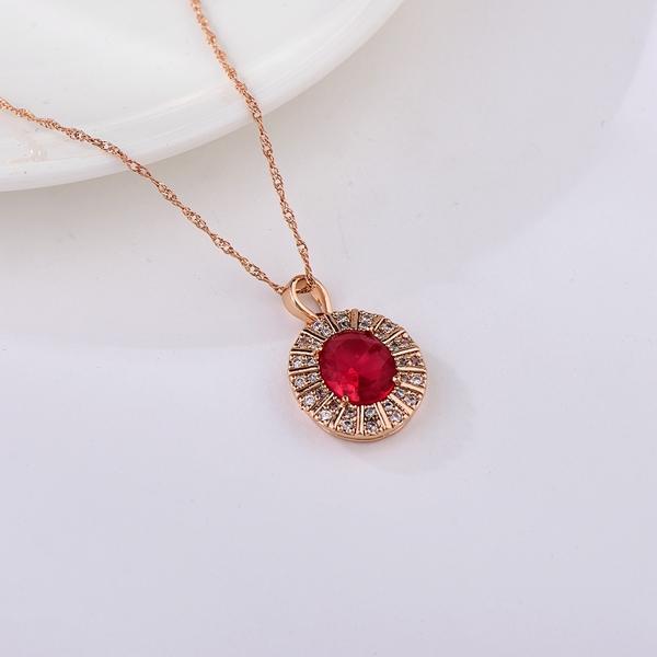 Picture of Good Cubic Zirconia Classic Pendant Necklace