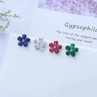 Picture of Inexpensive Copper or Brass Small Stud Earrings for Girlfriend