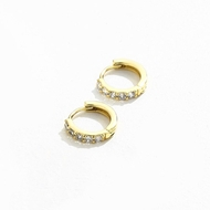 Picture of Small Copper or Brass Small Hoop Earrings in Exclusive Design