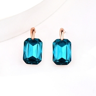 Picture of Charming Blue Zinc Alloy Stud Earrings As a Gift